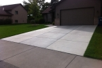 Concrete Driveway Installation Projects