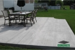 Concrete Patio Installation Projects