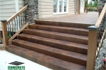 Custom Concrete Steps Installation Contractor Kitchener