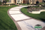 Concrete Walkway Installation Projects
